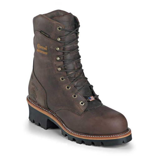 Chippewa 25407 USA ARADOR Steel Toe Non-Insulated Super Loggers