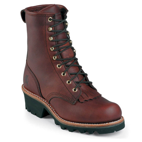 Chippewa L73026 Women's TINSLEY REDWOOD Soft Toe Non-Insulated Logging Boots