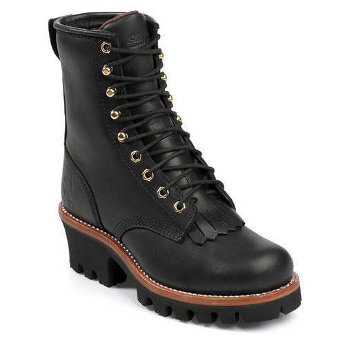 Chippewa L73045 Women's TINSLEY Soft Toe 400g Insulated Black Logger Boots