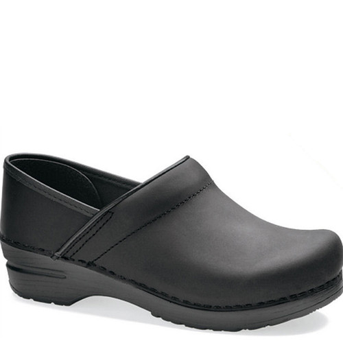 Dansko Men's BLACK OILED Professional Clogs