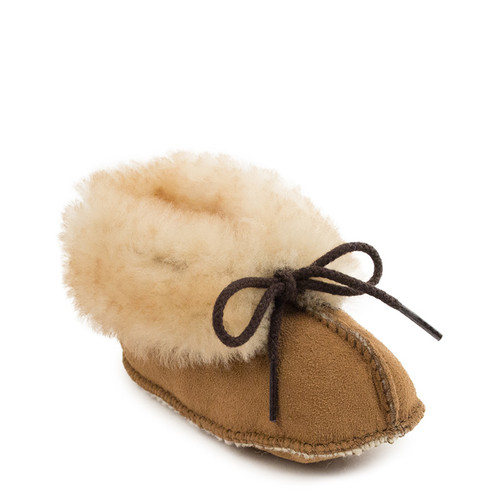 Minnetonka 1462 TODDLER AND KIDS' SHEEPSKIN BOOTIES