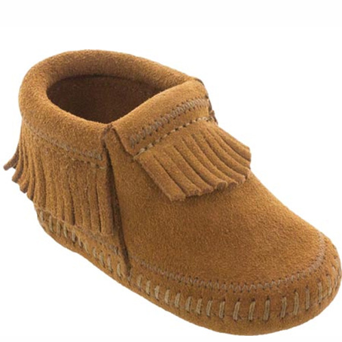 Minnetonka TODDLER RILEY BOOTIES Brown