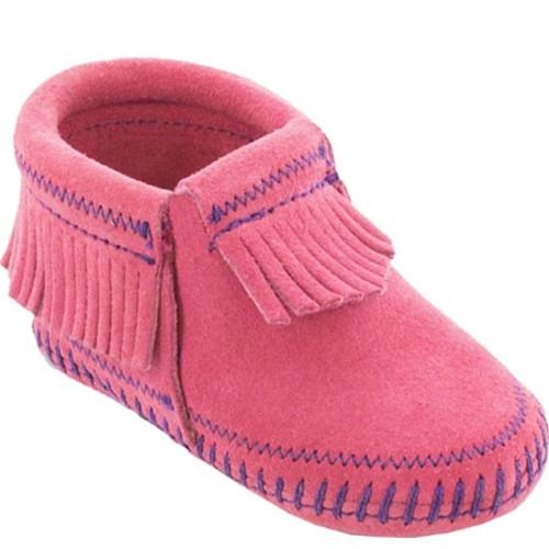 Minnetonka TODDLER RILEY BOOTIES Pink