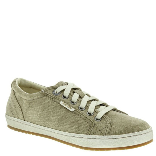 Taos 15844 STAR Khaki Washed Canvas Sneakers