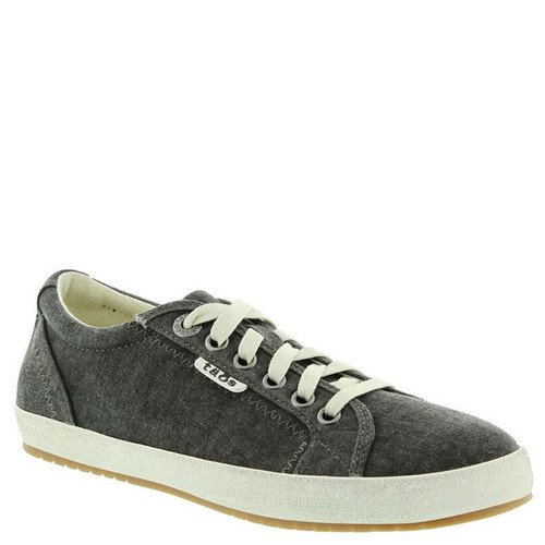 Taos 12844 STAR Charcoal Washed Canvas Sneakers