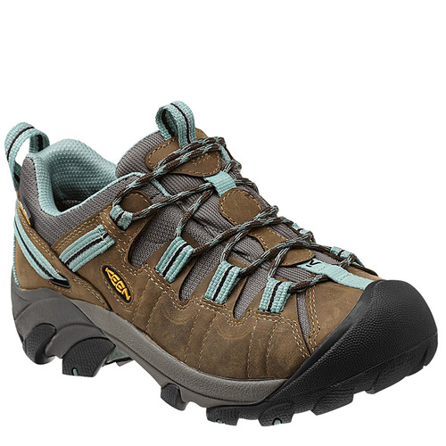 Keen Targhee II Women's Waterproof Hiking Shoe Black Olive Mineral Blue