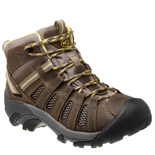 Keen 1010138 Voyageur Women's Mid Hiking Boots Brindle Custard