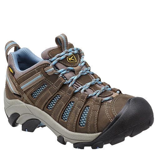 Keen Women's VOYAGEUR Hiking Shoes Brindle Alaskan Blue