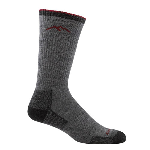 Darn Tough DAR1403 USA Made Men's Grey Cushioned Boot Socks