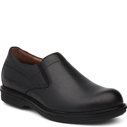 Dansko Men's JACKSON BLACK Leather Shoes
