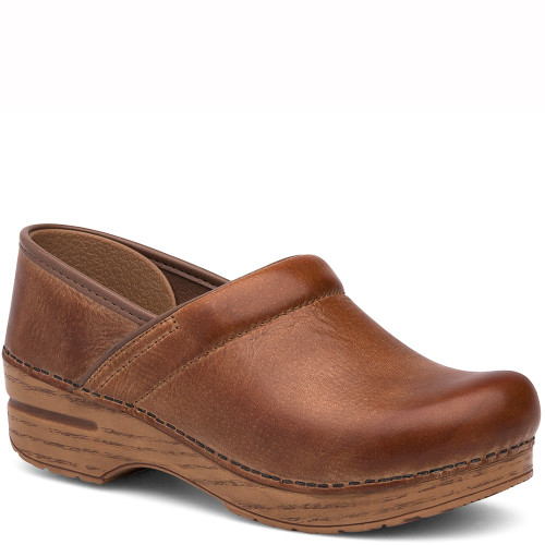 Dansko HONEY DISTRESSED Professional Clogs
