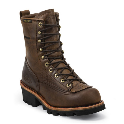 Chippewa 73100 PALADIN BAY APACHE Soft Toe Non-Insulated Lace-to-Toe Logging Boots