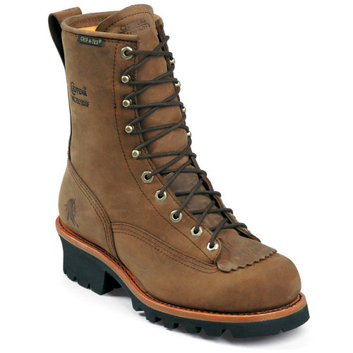 Chippewa 73101 PALADIN BAY APACHE Steel Toe Non-Insulated Lace-to-Toe Logging Boots