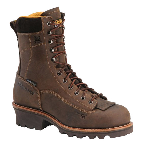 Carolina CA7022 BIRCH Soft Toe Non-Insulated Lace-to-Toe Logger Boots