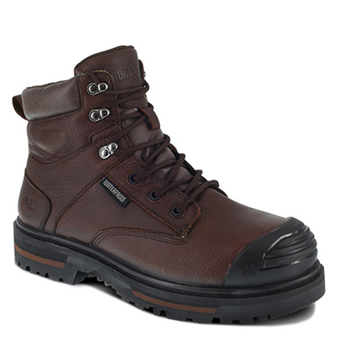 Iron Age IA0130 Brown Troweler Composite Toe Waterproof Work Boots