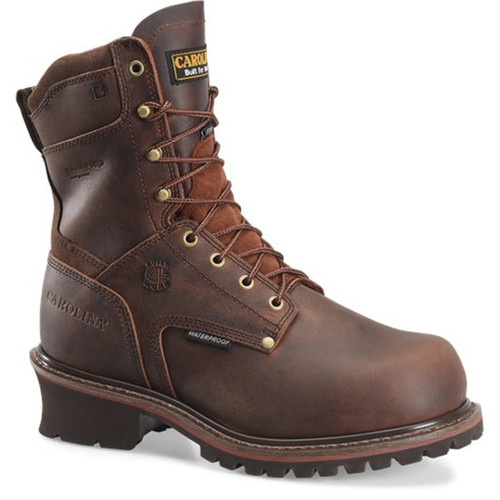 Carolina CA8508 REX Broad Toe Steel Toe 400g Insulated Waterproof Logger Boots