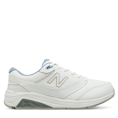 New Balance 928v3 Women's White Leather Walking Sneakers
