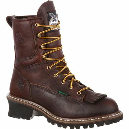 Georgia Boot G7313 Steel Toe Waterproof Logger Boots