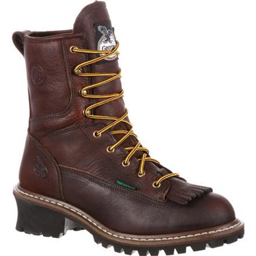 Georgia Boot G7313 STEEL TOE WATERPROOF Non-Insulated Logger Boots