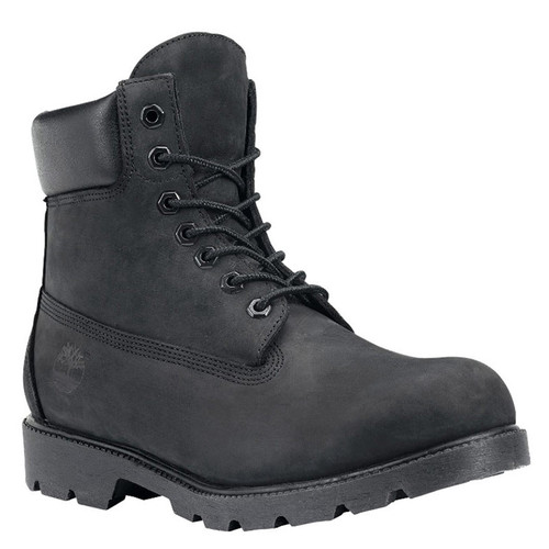 "Timberland 19039 6"" BLACK TIMS BOOTS"