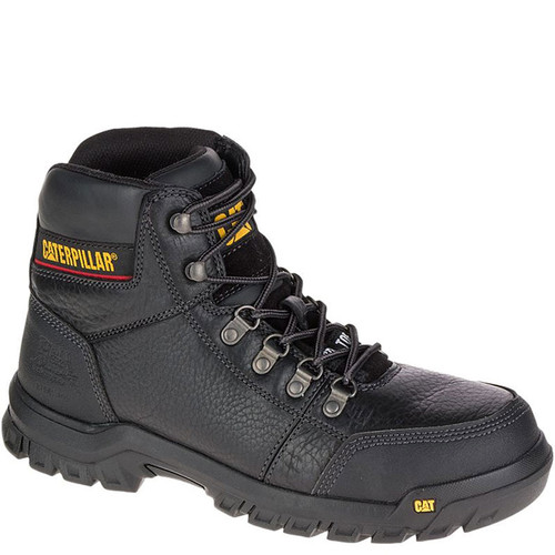 CAT P90800 OUTLINE Steel Toe Non-Insulated Black Work Boots