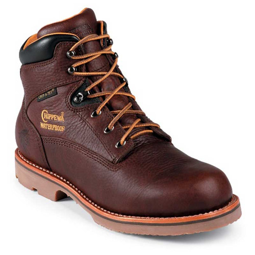 Chippewa 72125 COLVILLE Soft Toe 400g Insulated Waterproof Briar Oiled Work Boots