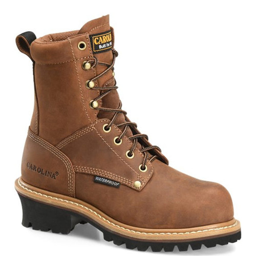Carolina CA435 Women's ELM Soft Toe Non-Insulated Logger Boots