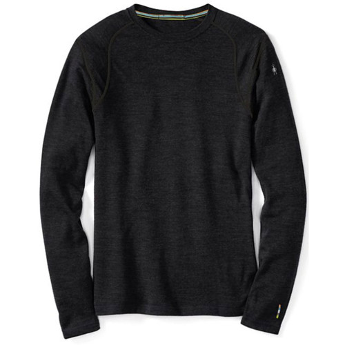 Smartwool Men's Gray Merino 250 Base Layer Crew Top