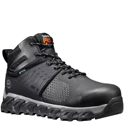 Timberland PRO A1KBW001 RIDGEWORK MID Composite Toe Black Work Boots