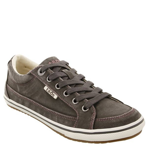 Taos 13487A MOC STAR Graphite Distressed Canvas Sneakers