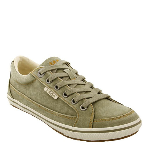 Taos 13482A MOC STAR Sage Distressed Canvas Sneakers
