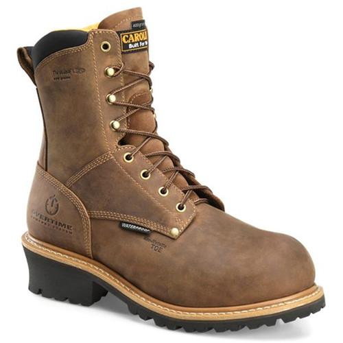 Carolina CA9851 POPLAR Composite Toe 600g Insulated Waterproof Logger Boots