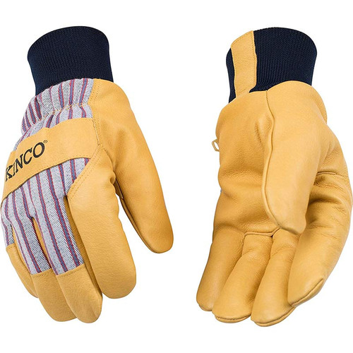 Kinco 1927KW Lined Pigskin Leather Work Gloves