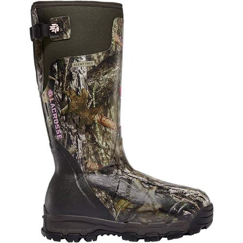 LaCrosse 376031 Women's ALPHABURLY PRO 1600g Mossy Oak Break-Up Country Hunting Boots