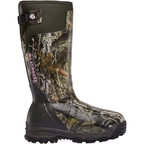LaCrosse 376031 Women's ALPHABURLY PRO 1600g Mossy Oak Break-Up Country Hunting Boots