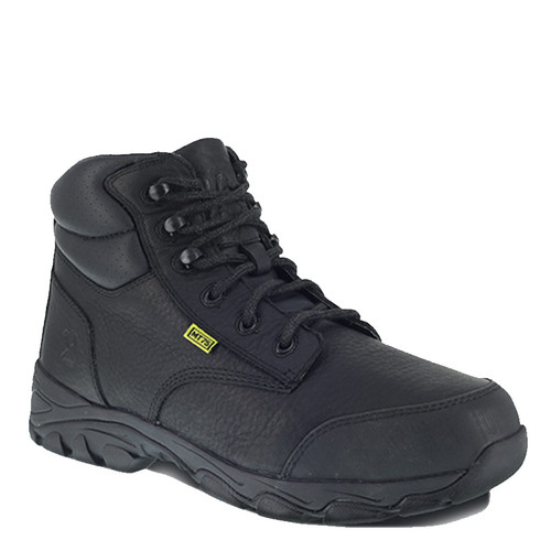 "Iron Age IA5230 GALVANIZER Steel Toe Met Guard 6"" Black Work Boots"