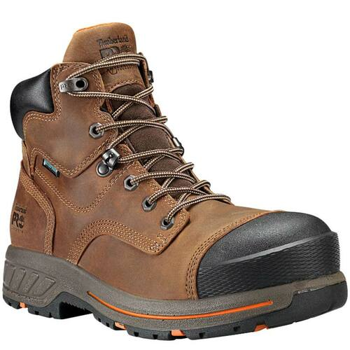 "Timberland PRO A1HQL214 HELIX HD 6"" Composite Toe Work Boots"