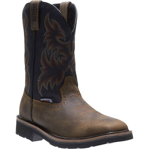 Wolverine W10765 RANCHER WELLINGTON Steel Toe Non-Insulated Work Boots