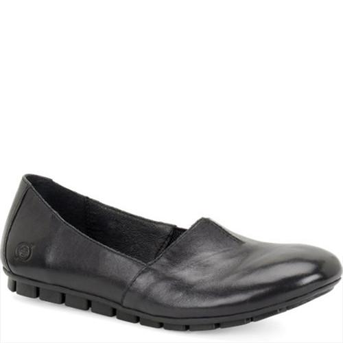 Born D74603 SEBRA Black Casual Flats