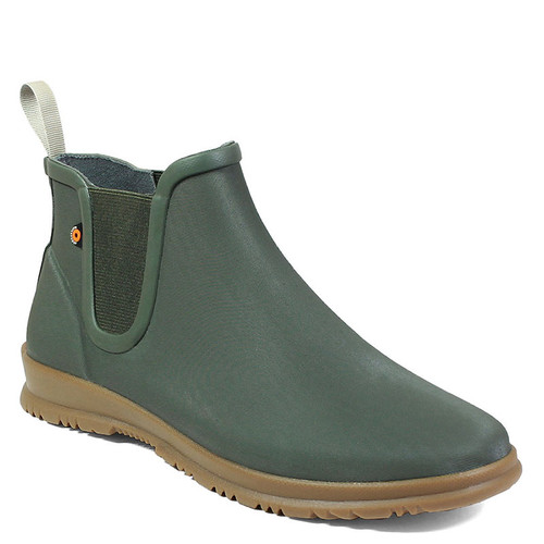 BOGS 72198 SWEETPEA SLIP-ON Sage Waterproof Rain Boots