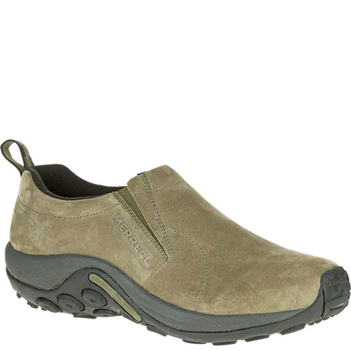 Merrell J71443 Men's JUNGLE MOC Slip-On Shoes Olive Suede