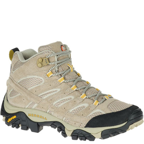 Merrell J06048 Women's MOAB 2 VENTILATOR Mid Hiking Boots Taupe