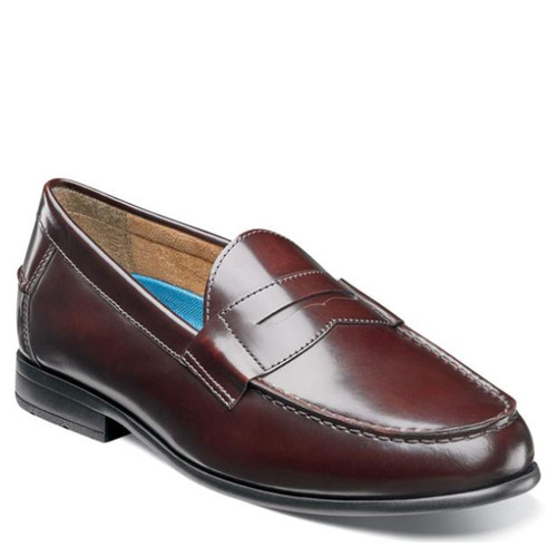Nunn Bush 84744-601 DREXEL Burgundy Penny Loafers