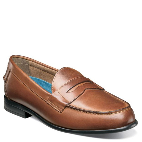 Nunn Bush 84744-221 DREXEL Cognac Penny Loafers