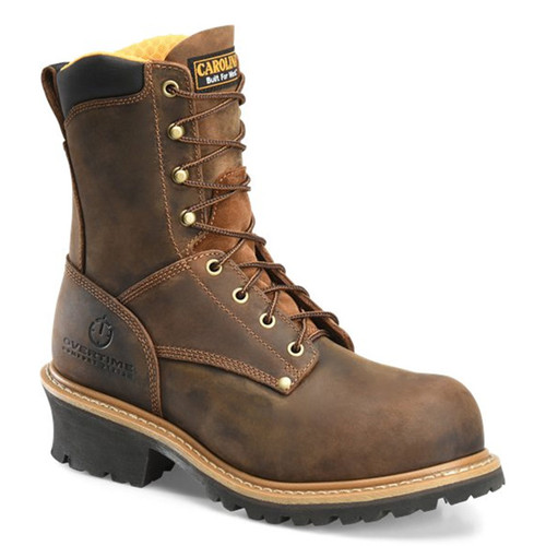 Carolina CA9053 POPLAR Soft Toe Unlined Non-Insulated Logger Boots