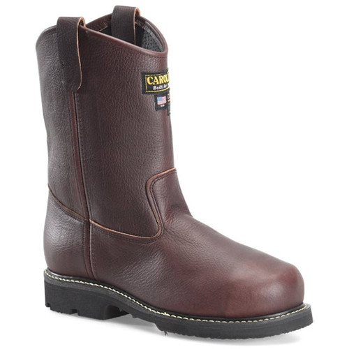 Carolina CA520 USA UNION MADE INT WELLINGTON Broad Steel Toe Met Guard Work Boots