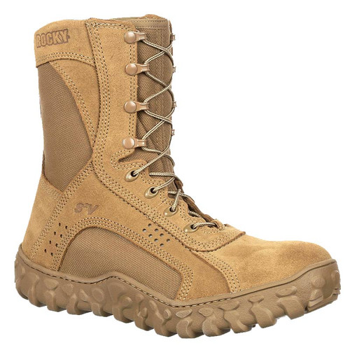 Rocky RKC089 Men'a USA MADE BERRY COMPLIANT & UNIFORM COMPLIANT S2V Tactical Military Composite Toe Boots