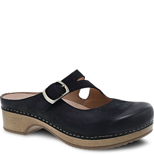 Dansko BRITNEY Black Burnished Nubuck