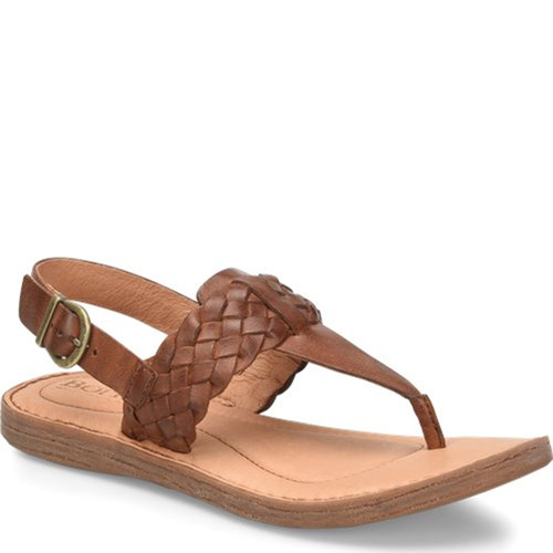 Born F62016 SUMTER British Tan Sandals