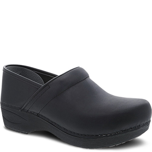 Dansko XP 2.0 BLACK WATERPROOF PULL UP Slip-Resistant Clogs